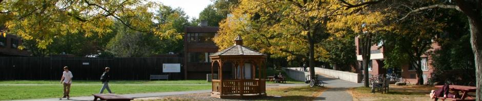 A college quad